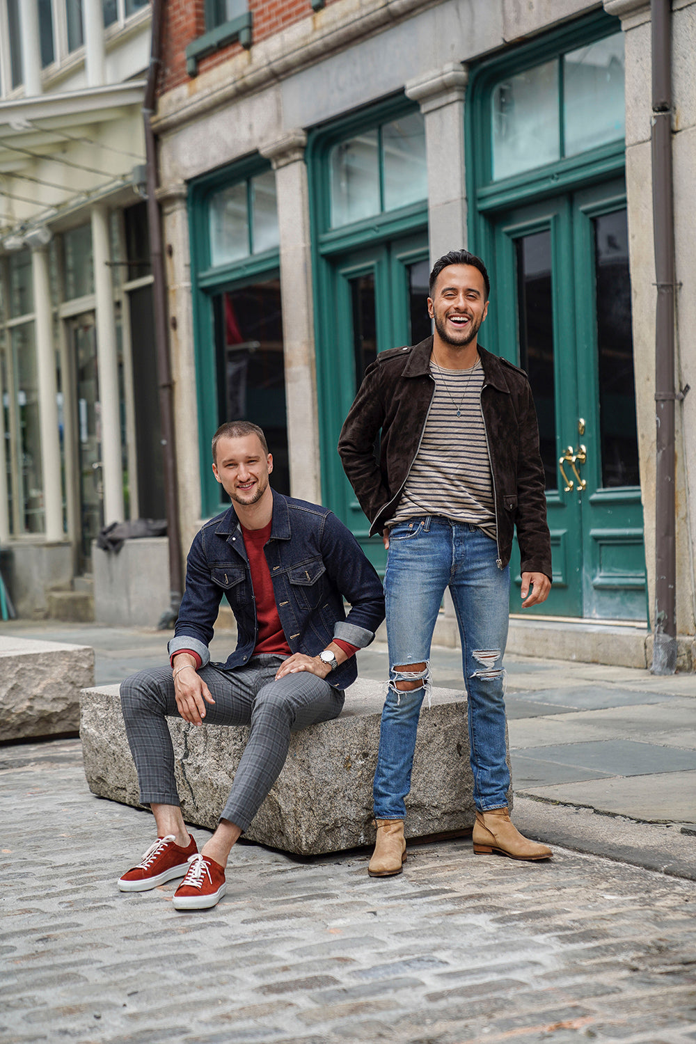 Meet the founders: <br> Moti & Marcel