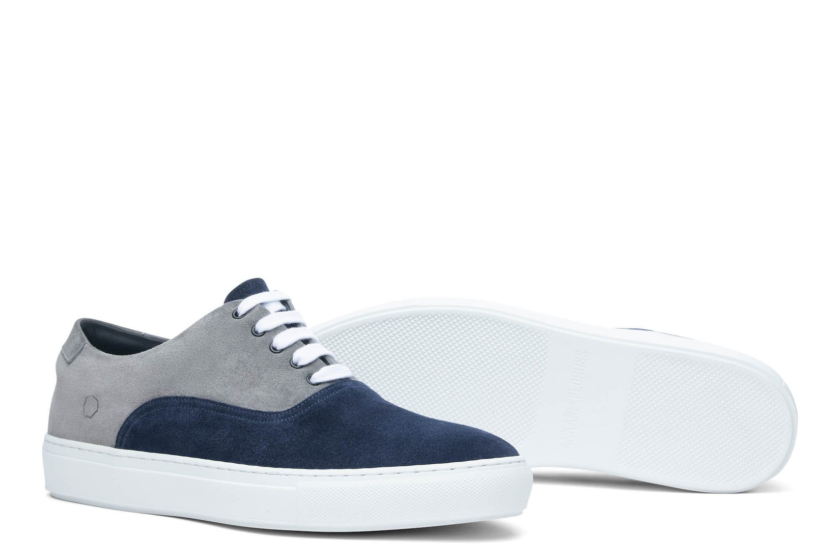 Sunday Two-Tone Skater Sneaker Navy/Grey