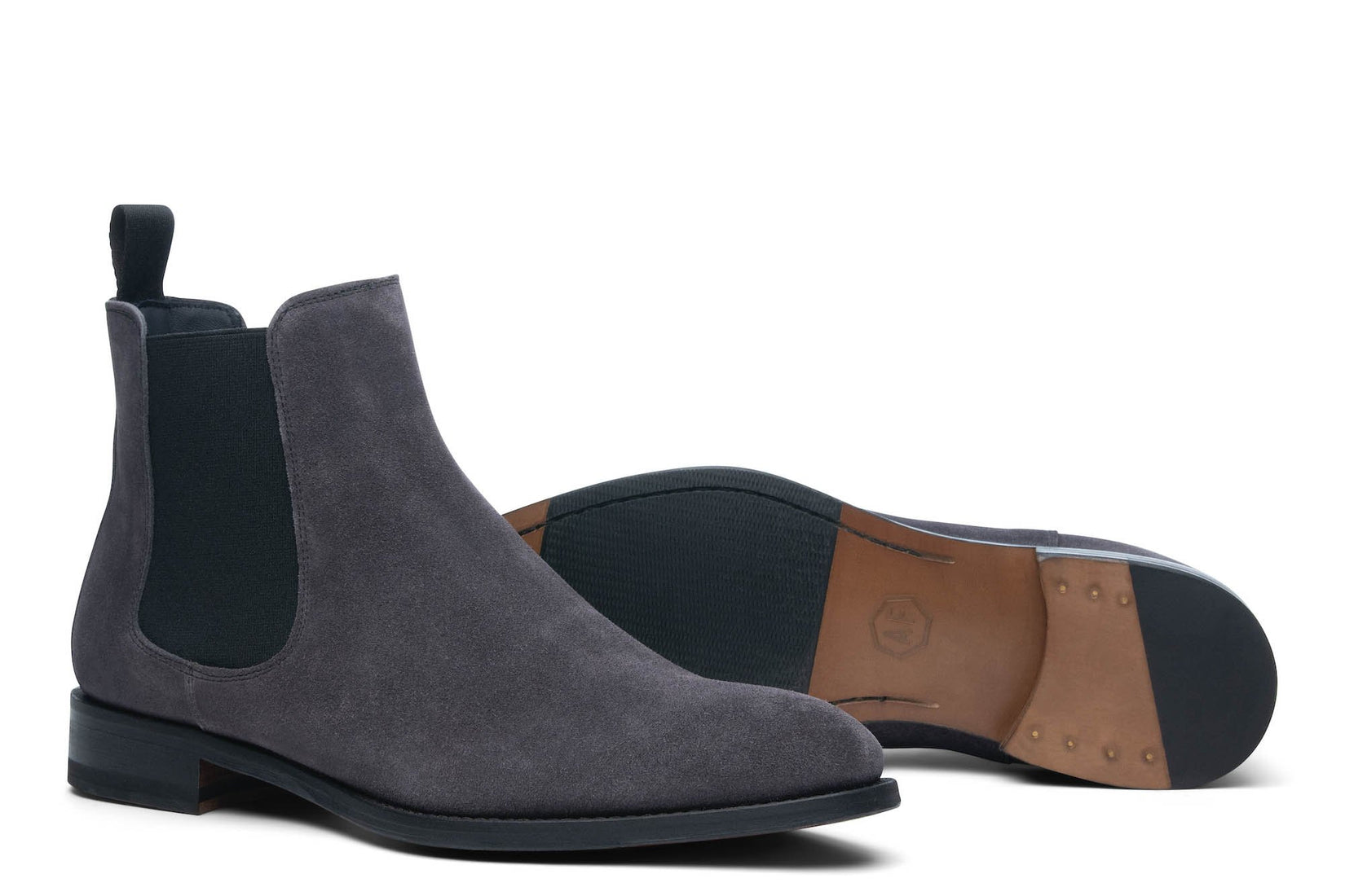 Wednesday Chelsea Boot in Dark Grey