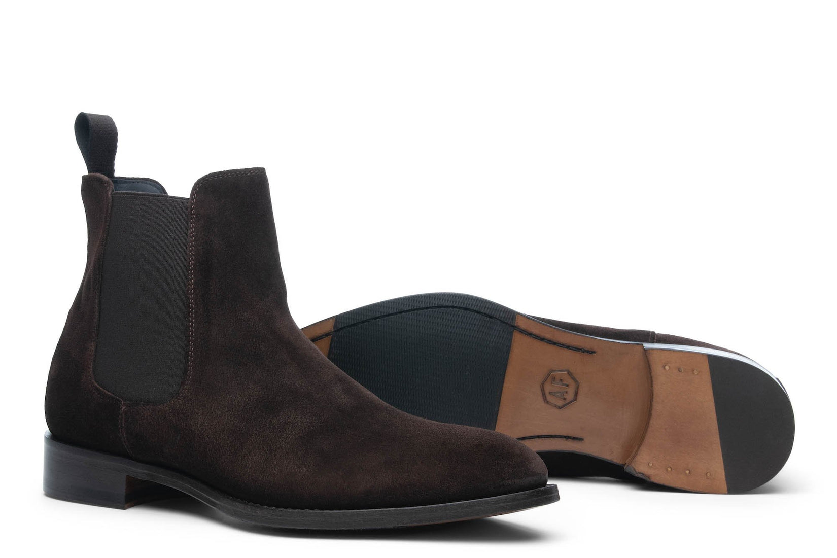 Wednesday Chelsea Boot in Dark Brown