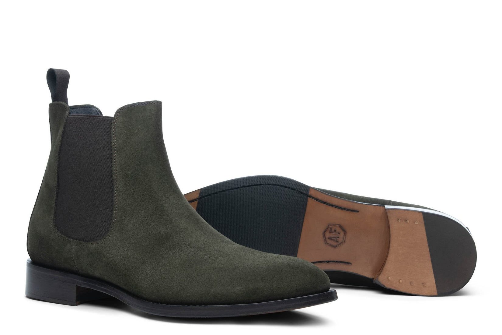 Wednesday Chelsea Boot in Forest