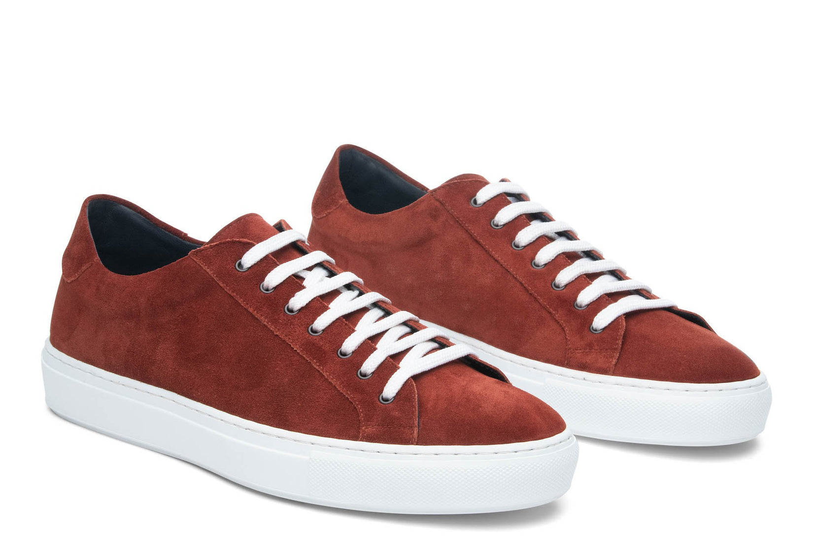 Saturday Lace-Up Sneaker in Brick