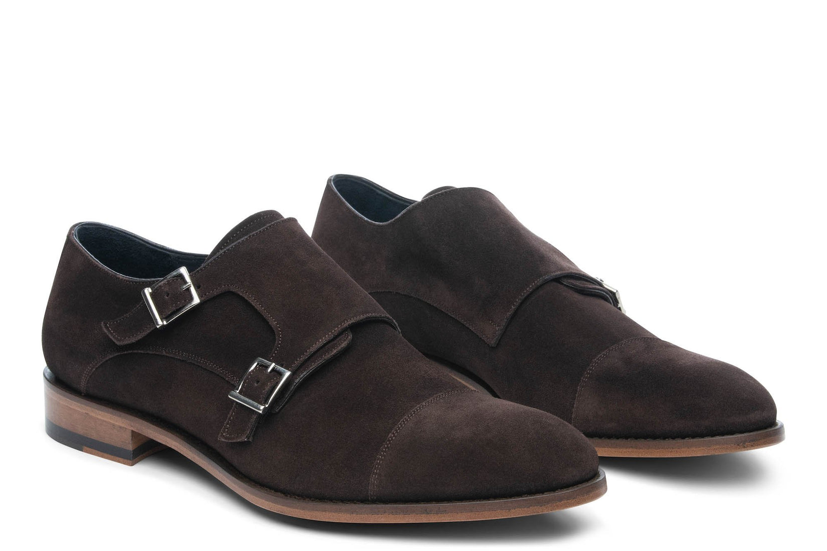 Thursday Double Monkstrap in Espresso