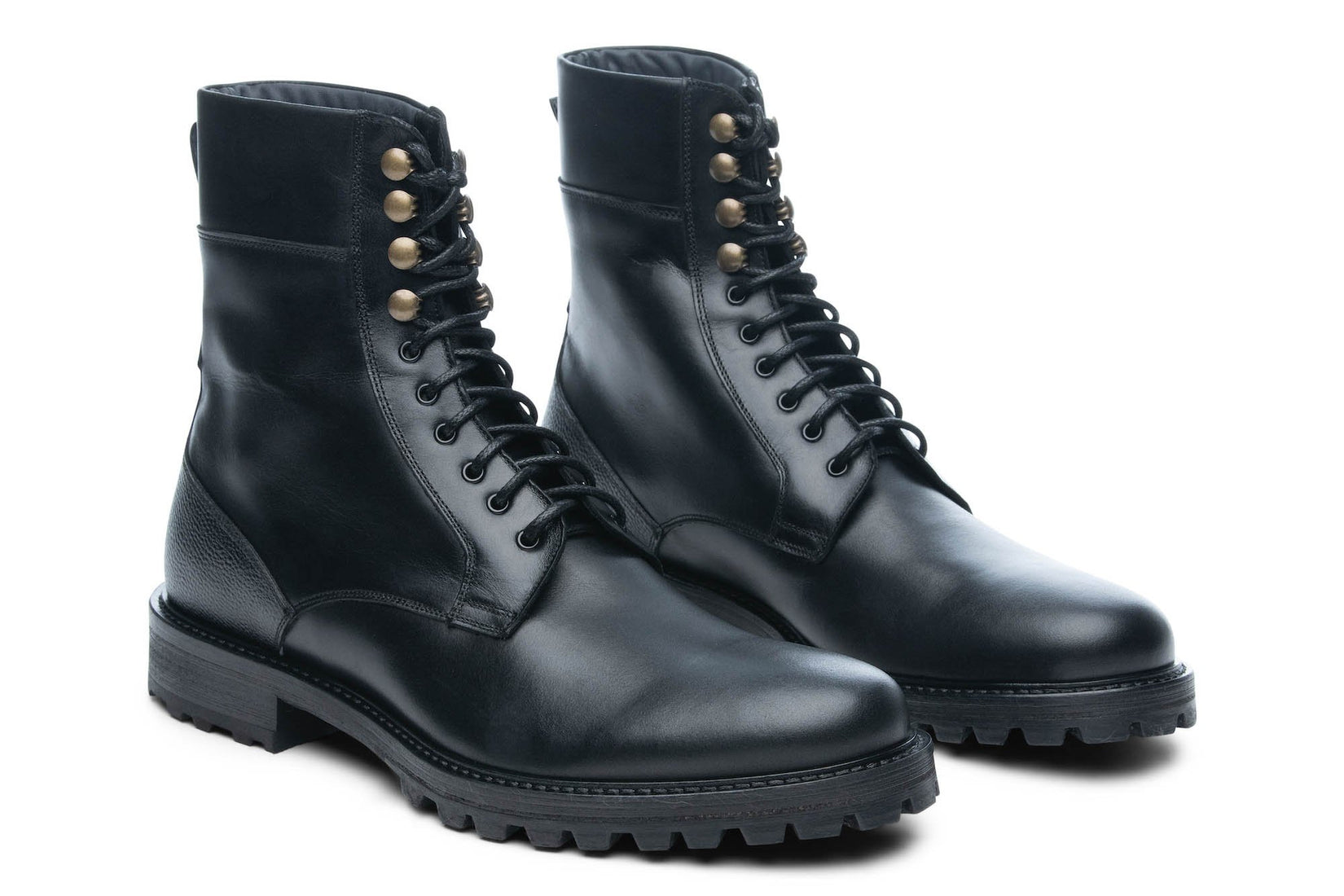 Combat Boot in Black