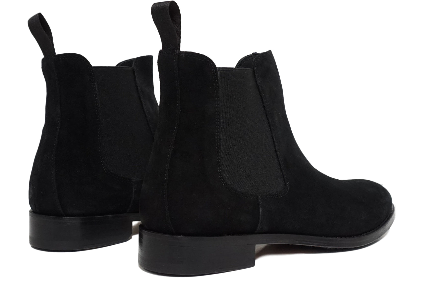Wednesday Chelsea Boot in Black Suede