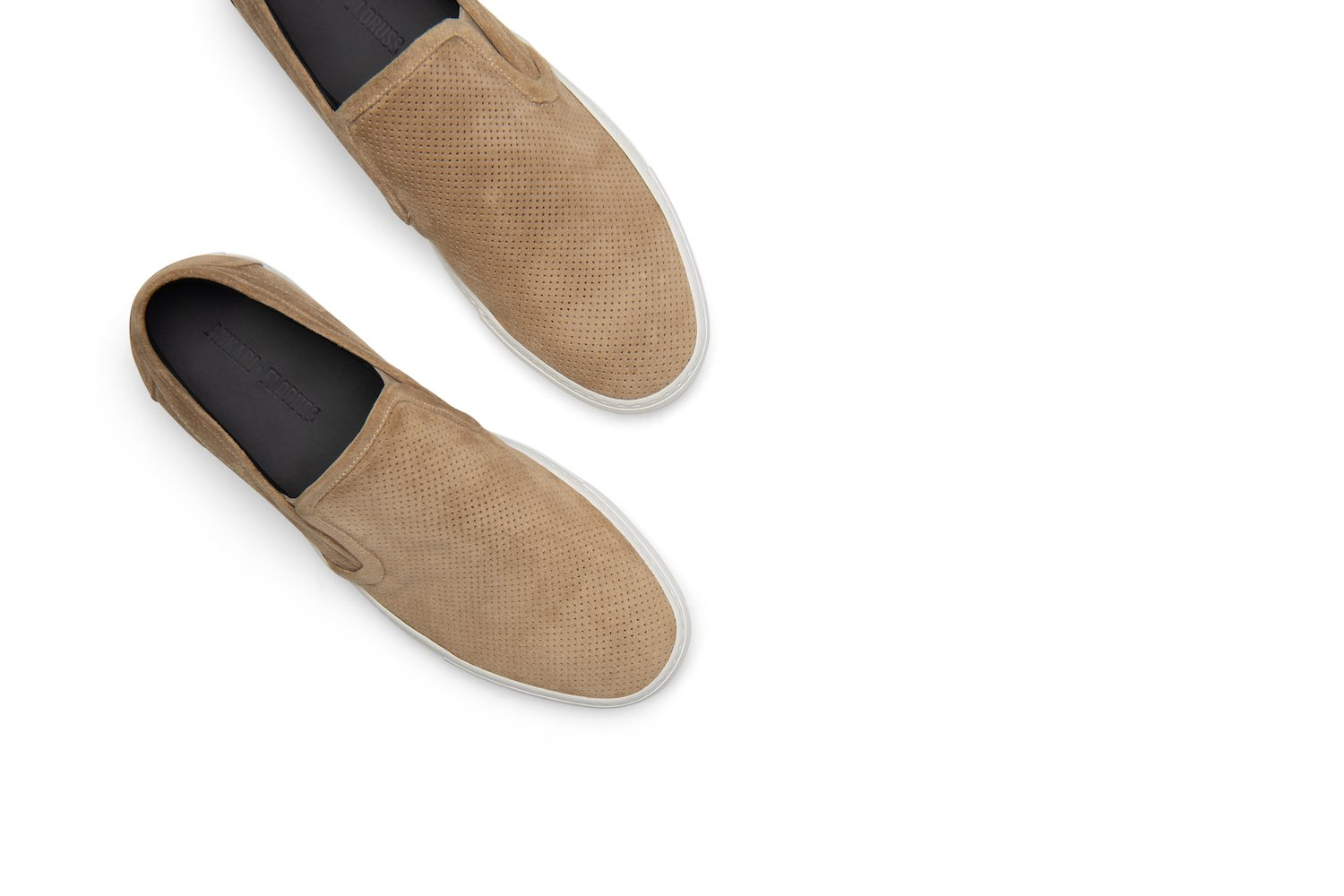 Tuesday Slip-On Sneaker in Beige