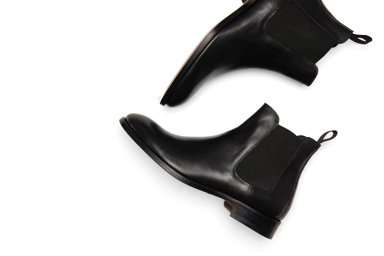 Wednesday Chelsea Boot in Black
