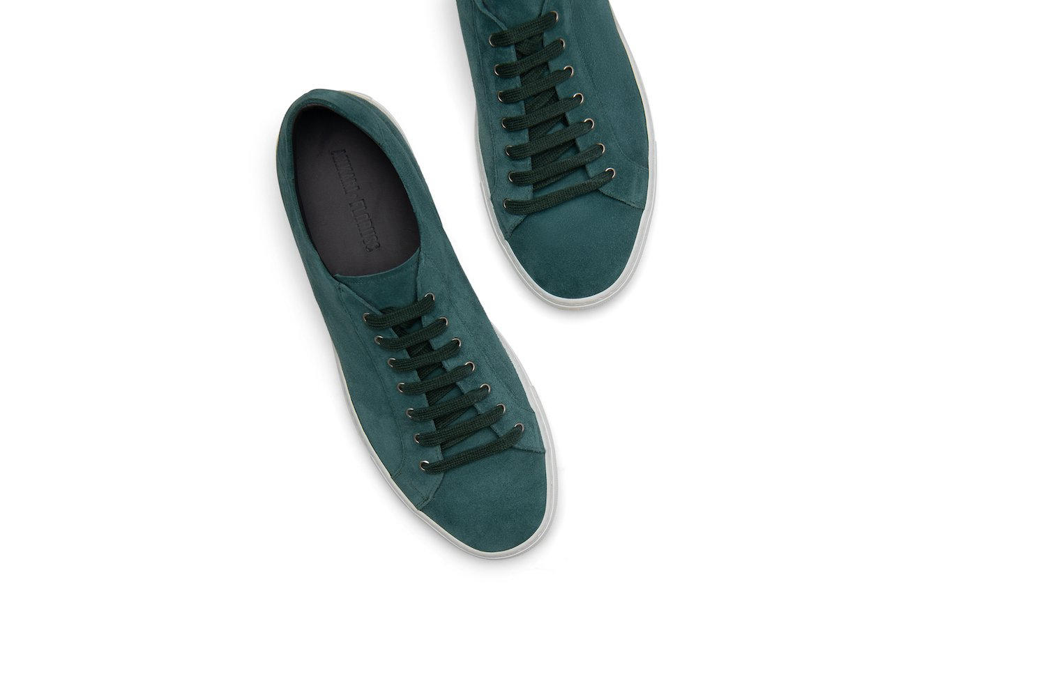 Saturday Lace-Up Sneaker in Teal