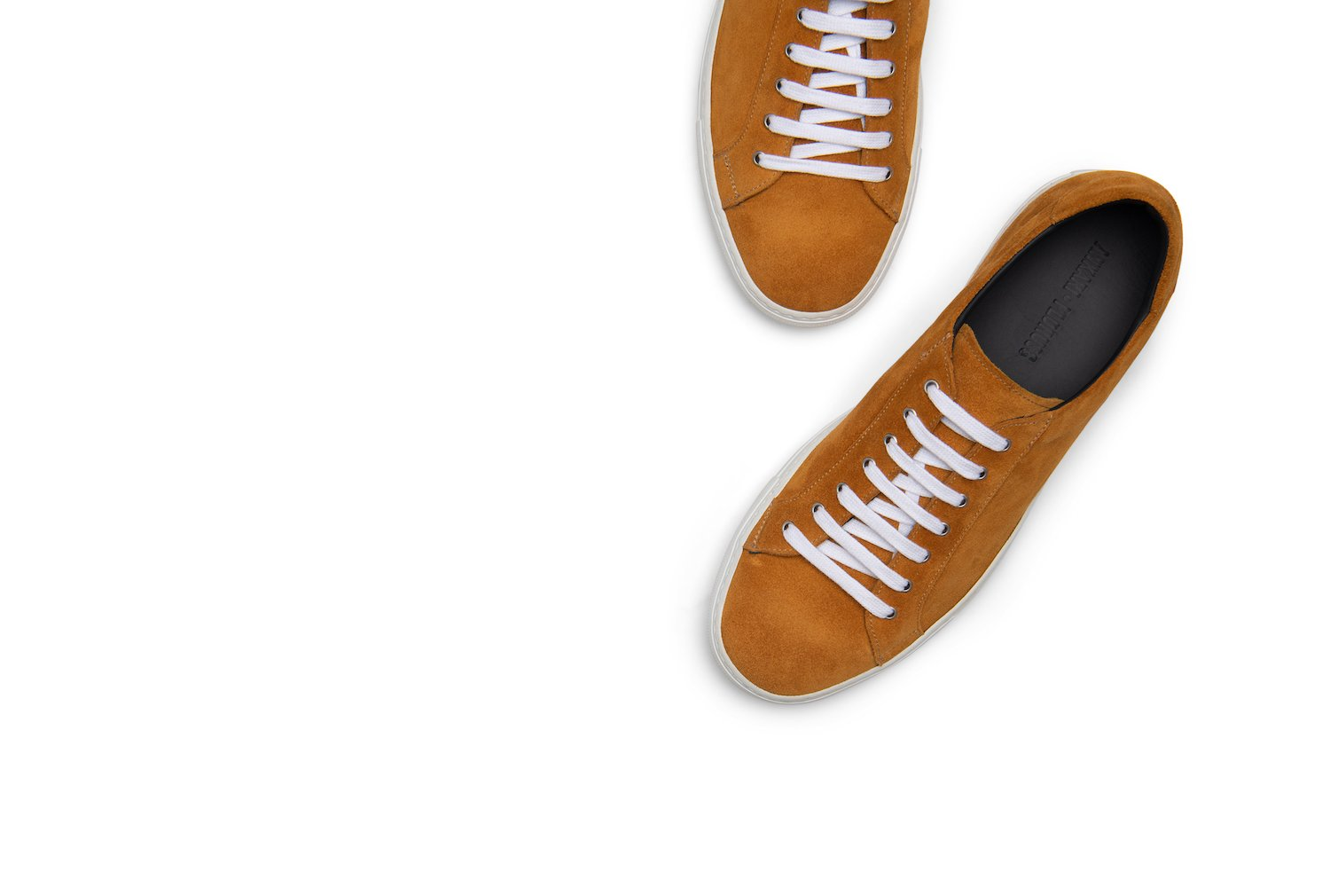 Saturday Lace-Up Sneaker in Marigold (FINAL SALE)