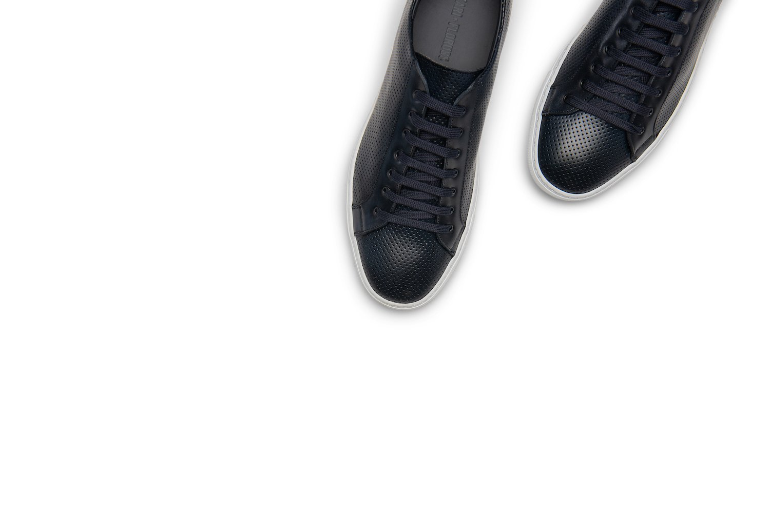 Saturday Lace-Up Sneaker in Dark Navy