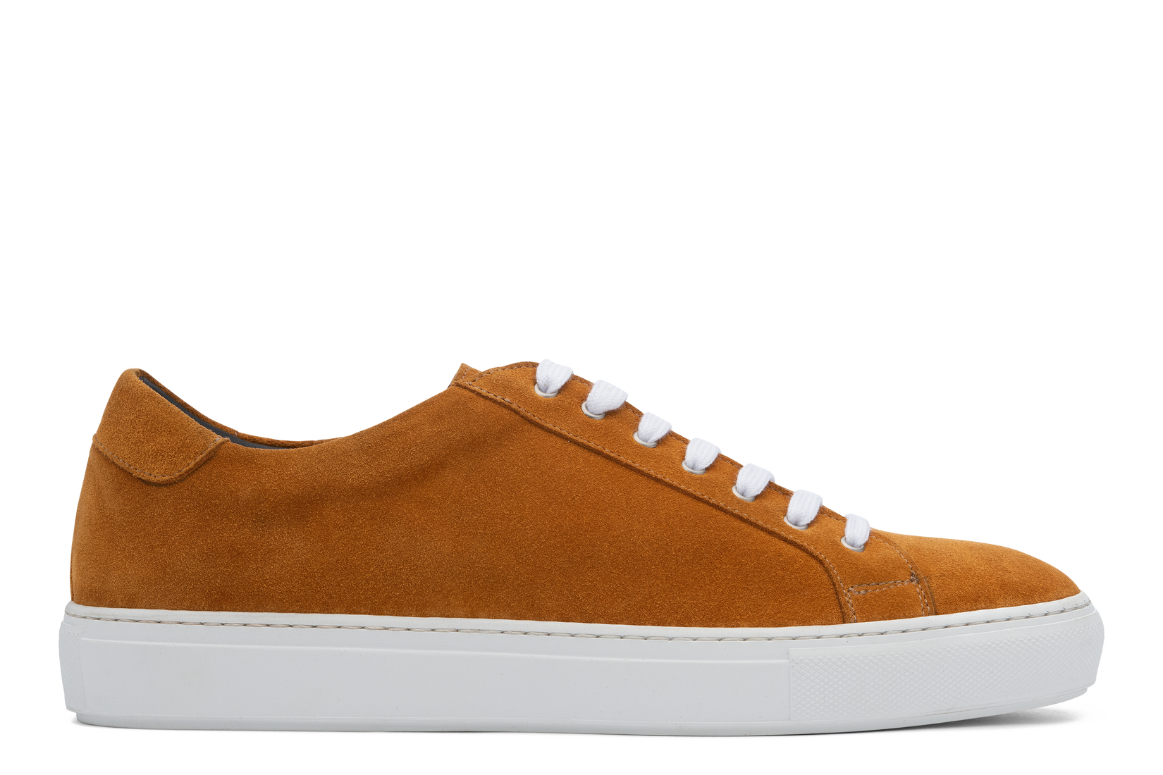 Saturday Lace-Up Sneaker in Marigold