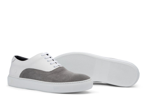 Sunday Two-Tone Skater Sneaker White/Grey