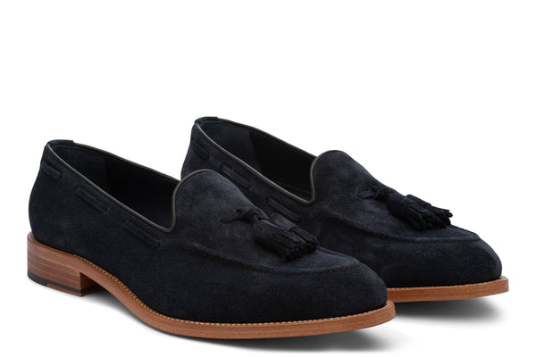 Friday Navy Suede