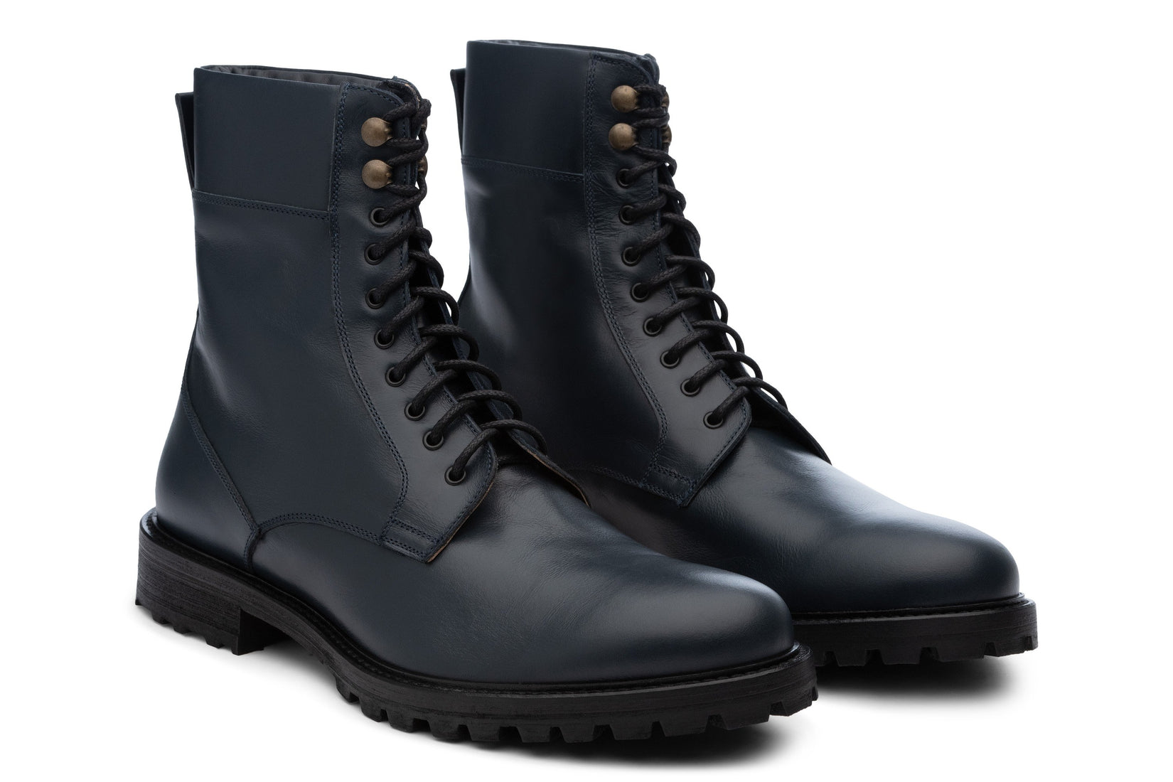 Combat Boot in Navy