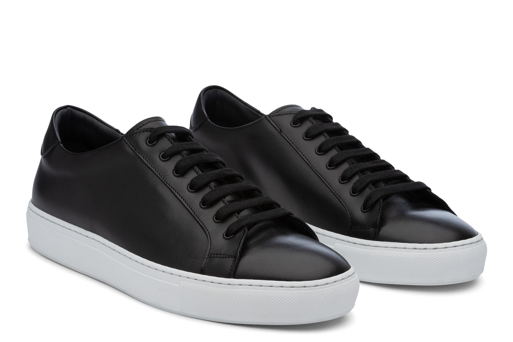 Saturday Lace-Up Sneaker in Black