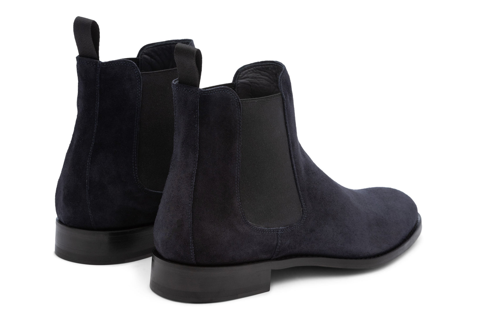 Wednesday Chelsea Boot in Navy Suede