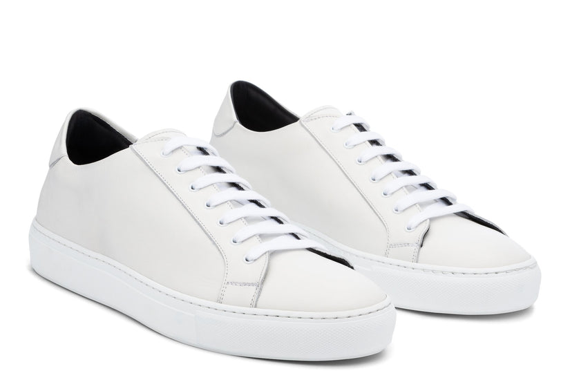 Saturday Lace-Up Sneaker White