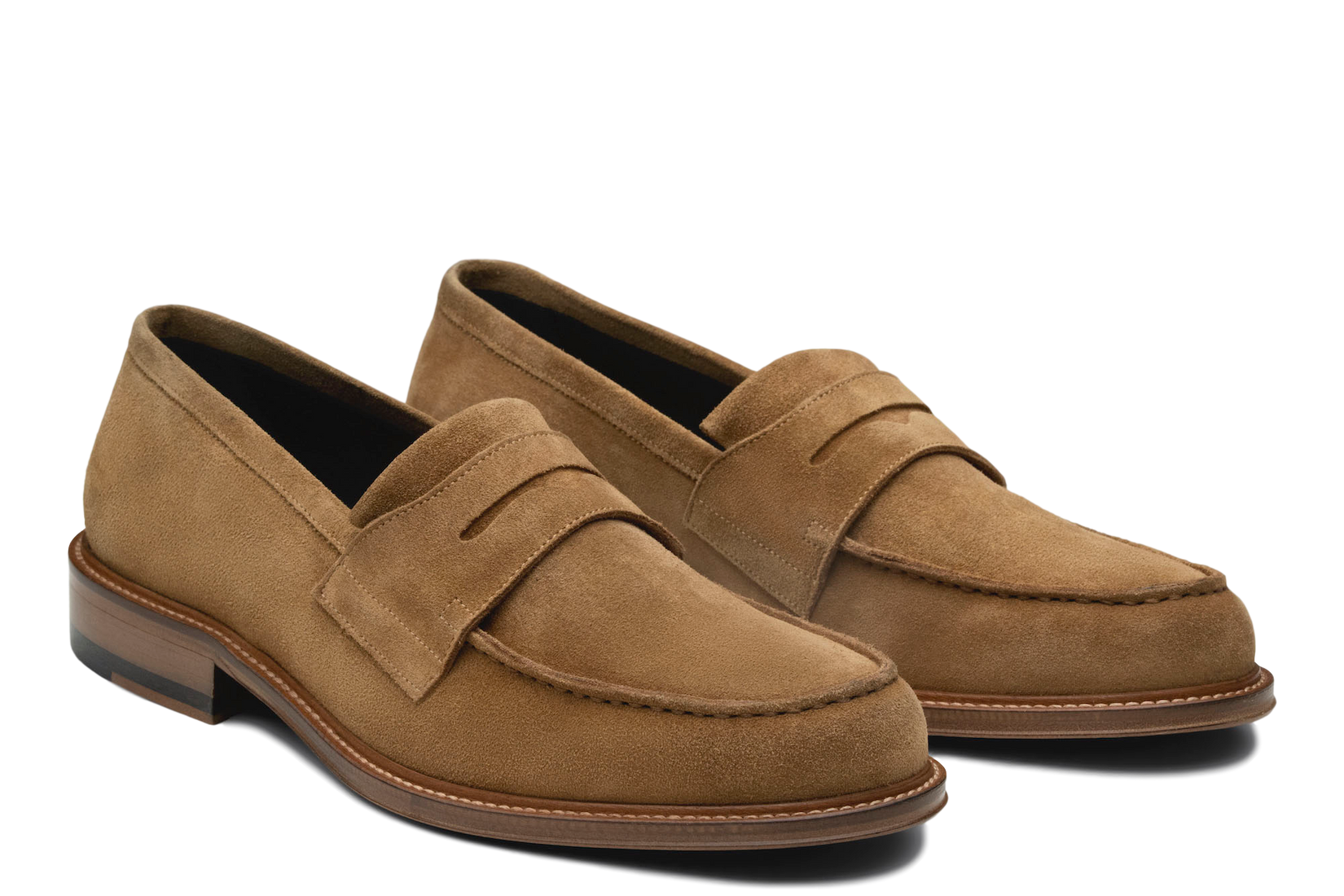 Monday Penny Loafer in Tan (FINAL SALE)