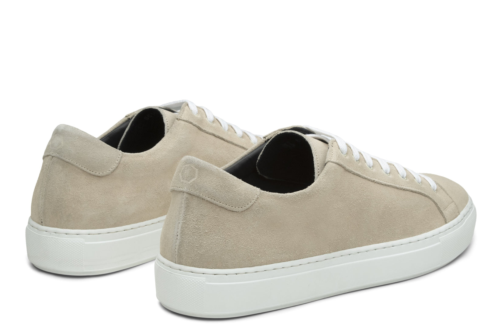 Saturday Lace-Up Sneaker in Cream