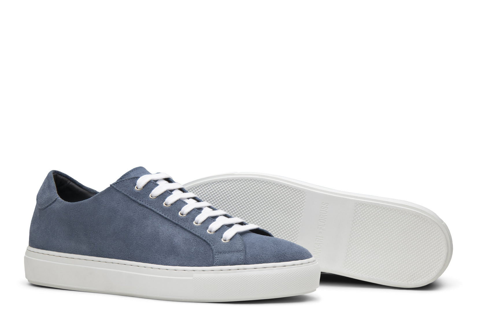 Saturday Lace-Up Sneaker in Sky Blue