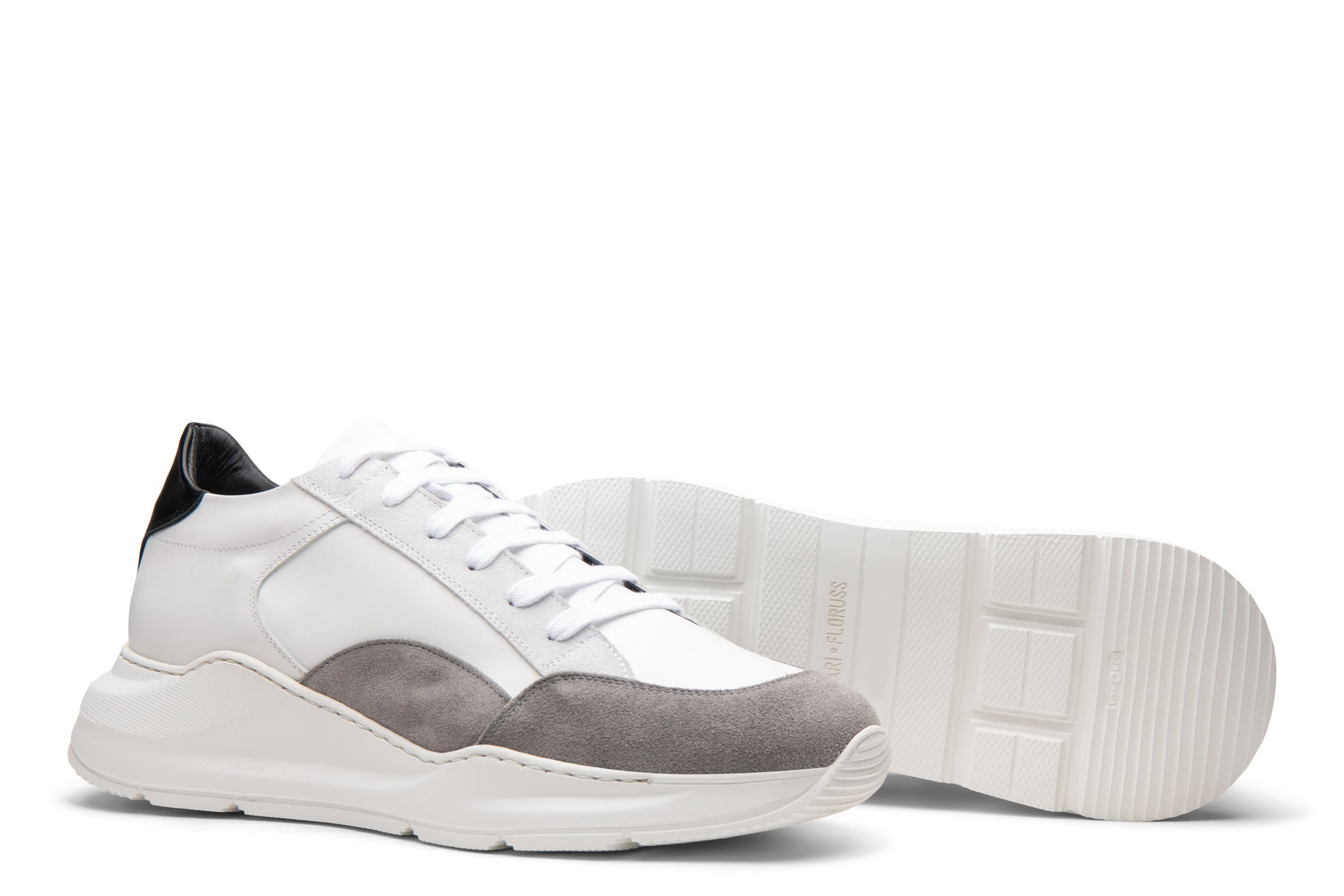 Tuesday Chunky Trainer in Grey