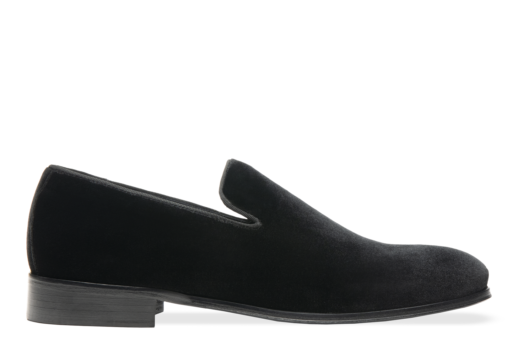 Smoking Slipper in Jet Black