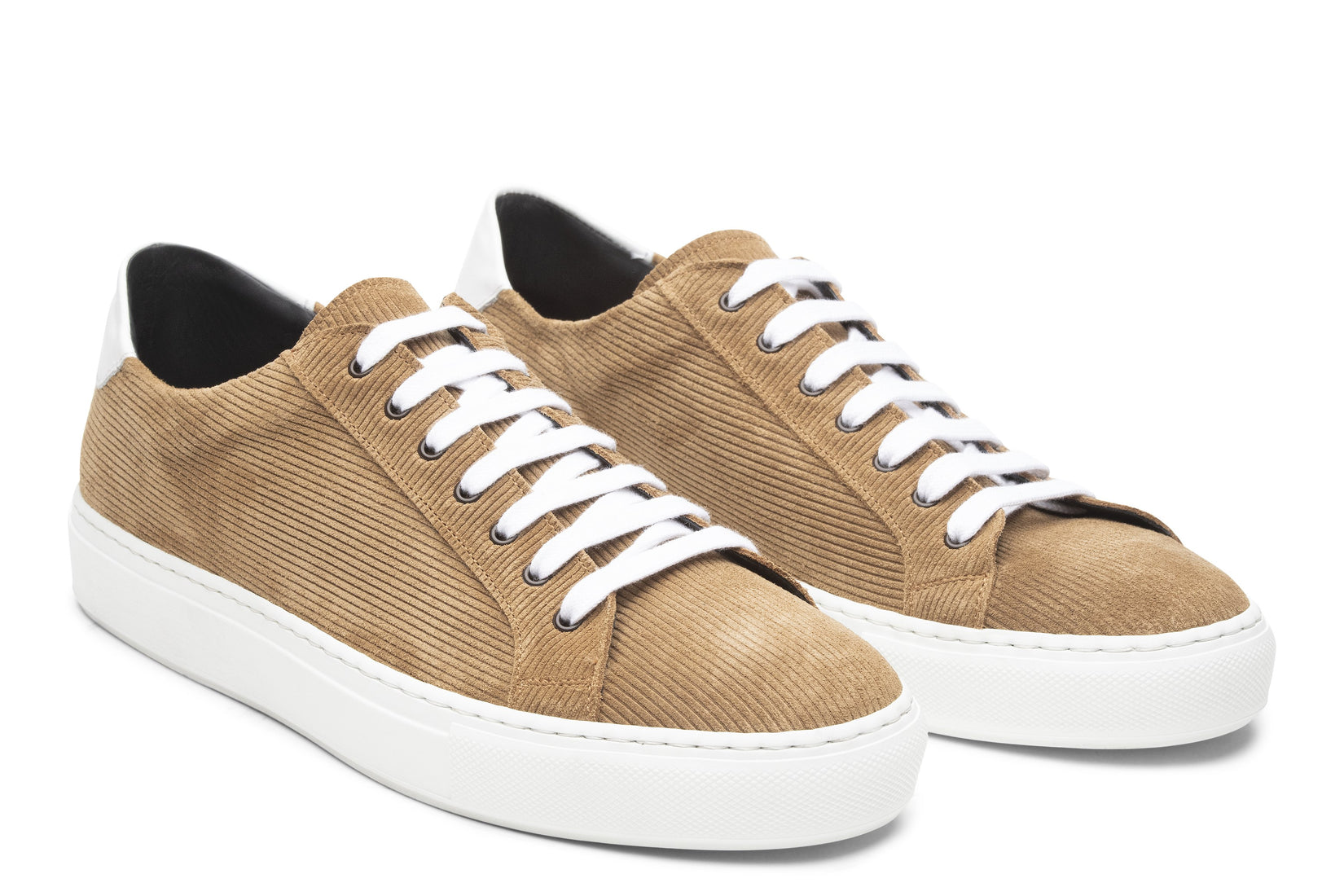 Saturday Lace-Up Sneaker in Caramel