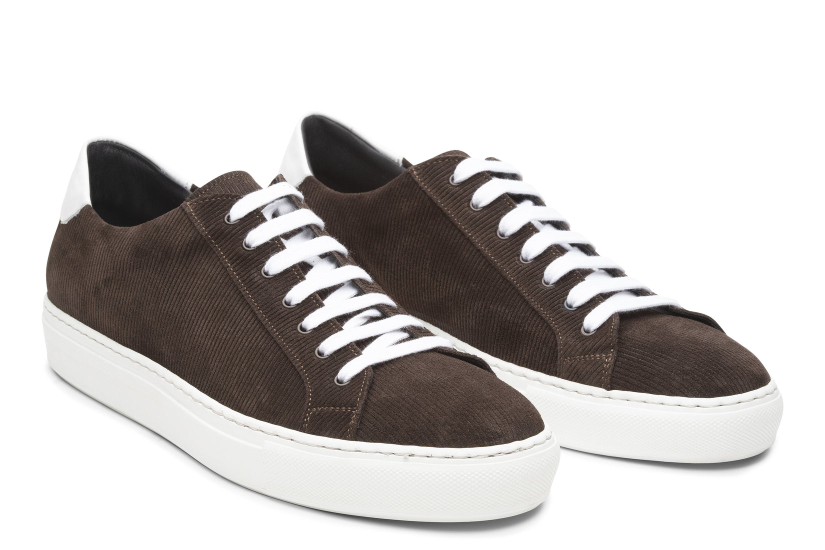 Saturday Lace-Up Sneaker in Chocolate