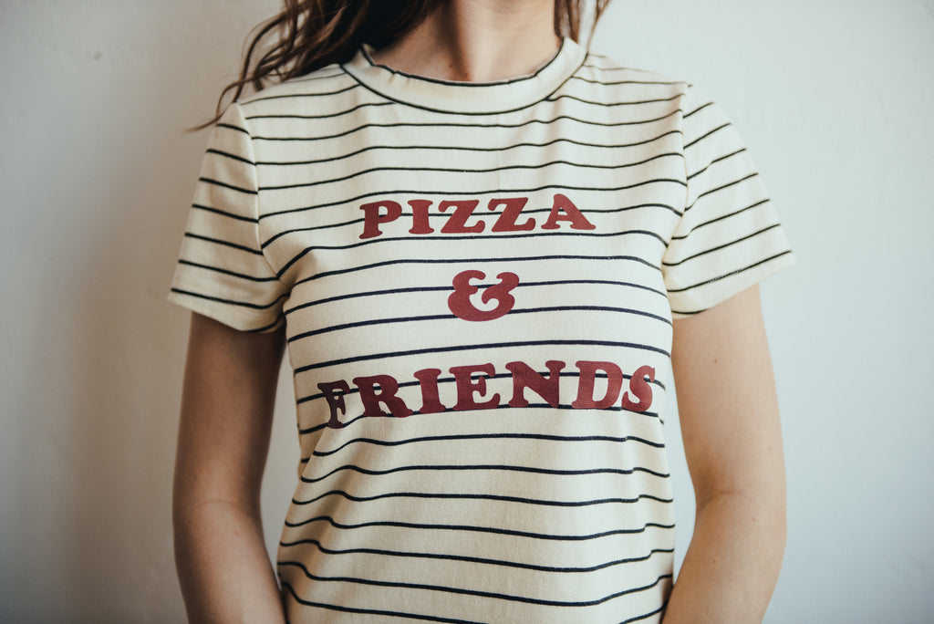 7 Reasons The Pizza & Friends Retro Tee Is Going To Change The Course of Your Summer
