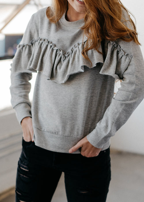 Frilled About You Sweatshirt
