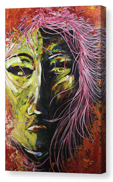Mad. Artist Original Canvas Print