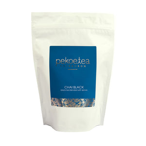 PekoeTea Edinburgh Chai Black Tea 250g Re-sealable Pouch