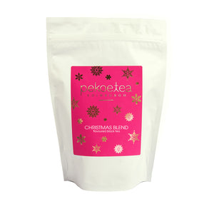 PekoeTea Edinburgh Christmas Blend Flavoured Black Tea 250g Re-sealable Pouch