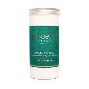 PekoeTea Edinburgh Jasmine Yin Hao Chinese Green Tea Caddy