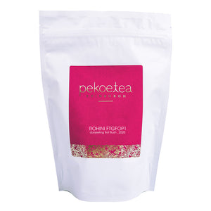 PekoeTea Edinburgh Rohini 2020 FIrst Flush Darjeeling 250g Re-sealable Pouch