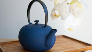 Wazuqu Fuku Large Cast-Iron Teapot