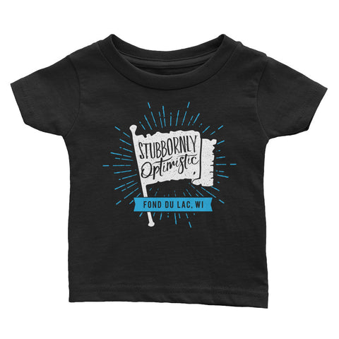 """Stubbornly Optimistic"" Toddler Tee"