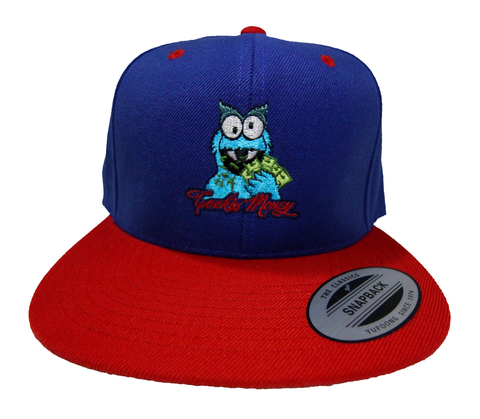 Snapback (Royal/Red)