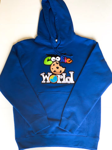 Royal Blue Cookie World Hoodie