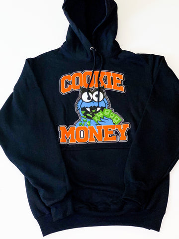 Black Cookie Money Logo Hoodie