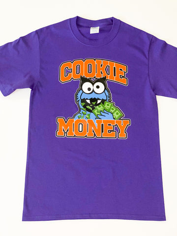Purple Cookie Money Logo T