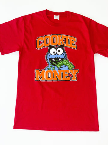 Red Cookie Money Logo T