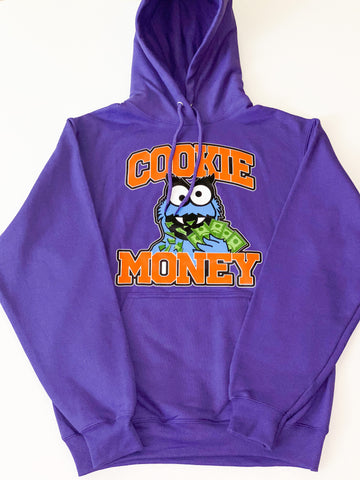 Purple Cookie Money Logo Hoodie