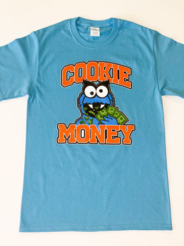Baby Blue Cookie Money Logo T