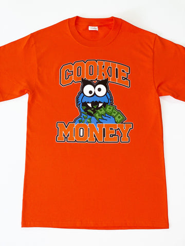 Orange Cookie Money Logo T