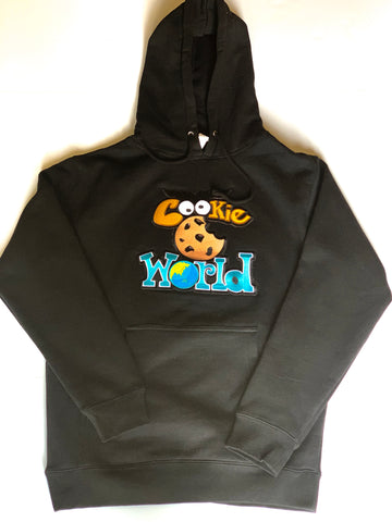Black Cookie World Hoodie
