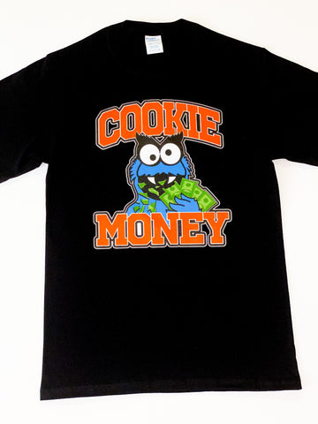 Black Cookie Money Logo T