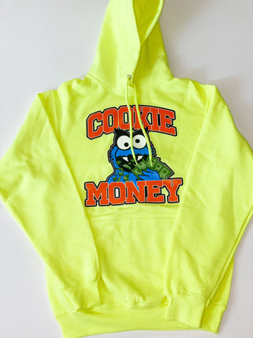 Neon Cookie Money Logo Hoodie