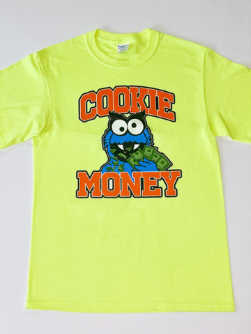 Neon Cookie Money Logo T