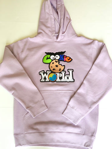 Lavender Cookie World Hoodie